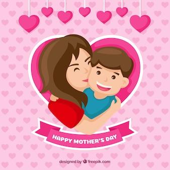 Fondo feliz día de la madre