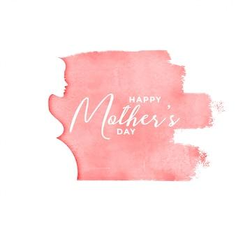 Fondo feliz día de las madres con silueta de mujer embarazada