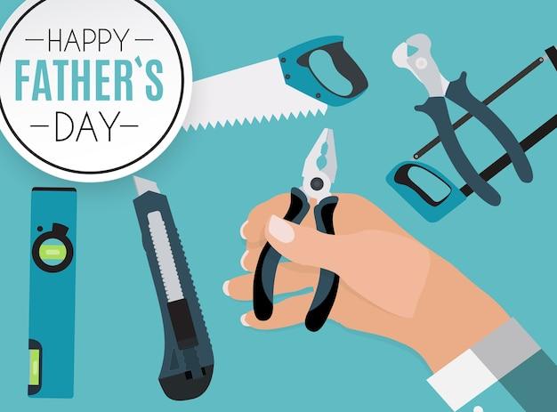 Fondo feliz del día del padre