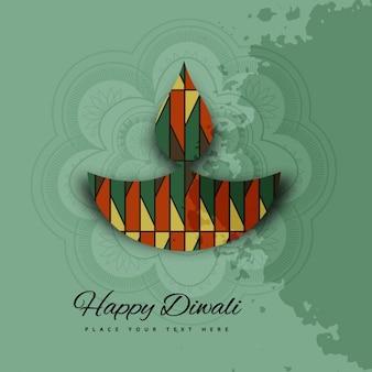 Fondo de feliz diwali