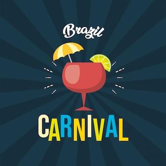 Fondo del festival de carnaval de brasil