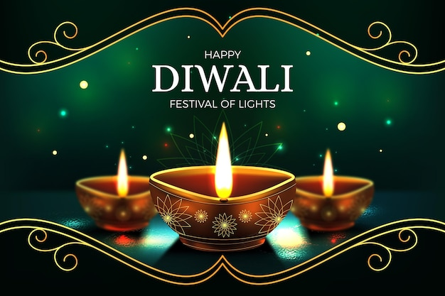 Fondo del festival de diwali