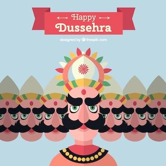 Fondo para el festival de dussehra