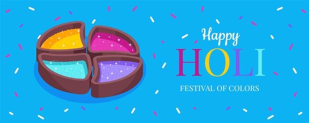 Fondo del festival holi