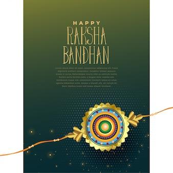 Fondo del festival indio raksha bandhan