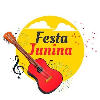 Fondo de festival latinoamericano festa junina brasil