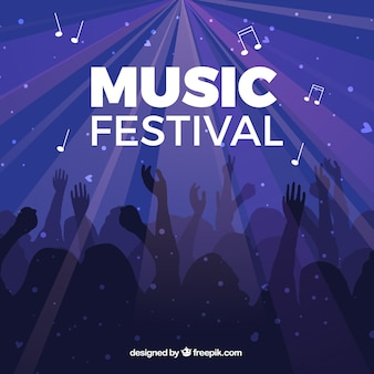 Fondo del festival de música