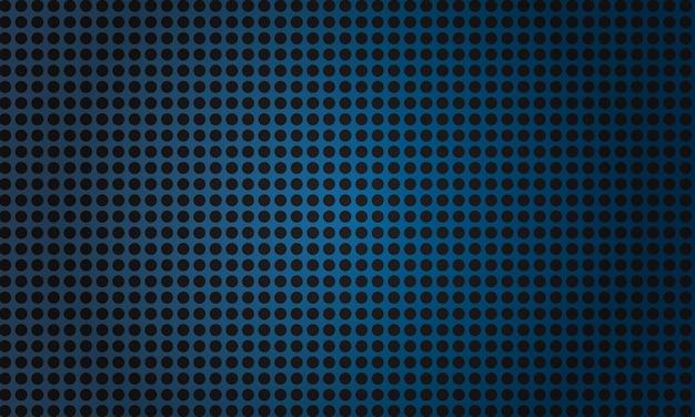 Fondo de fibra circular azul metálico