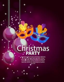 Fondo de fiesta de belleza abstracta feliz navidad y año nuevo