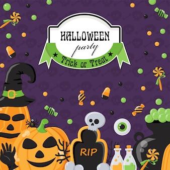 Fondo para fiesta de halloween
