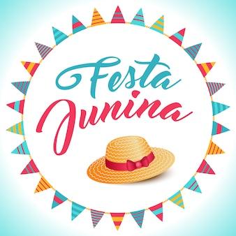 Fondo de fiesta junina