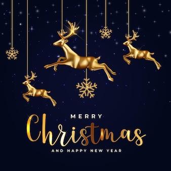 Fondo de fiesta de navidad. feliz año nuevo y feliz navidad cartel plantilla. ilustración vectorial eps10