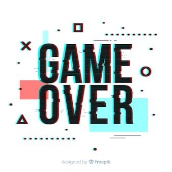 Fondo de fin del juego