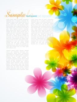Fondo de flor hermosa