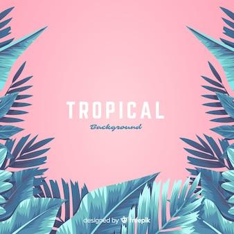 Fondo de flor tropical