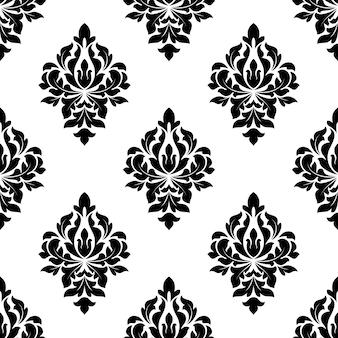 Fondo floral de patrones sin fisuras