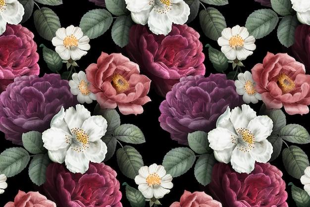 Fondo floral romantico