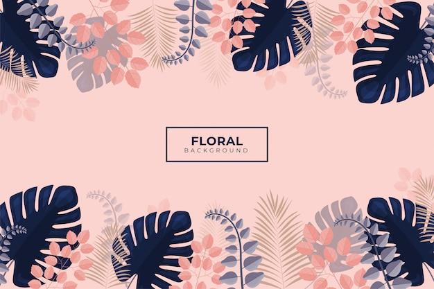 Fondo floral romántico