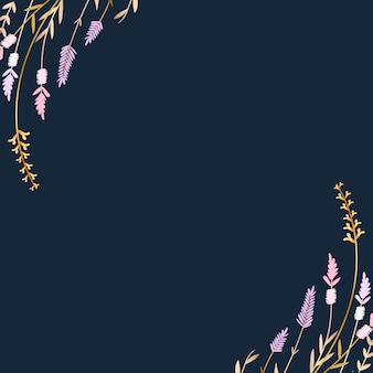 Fondo floral de verano