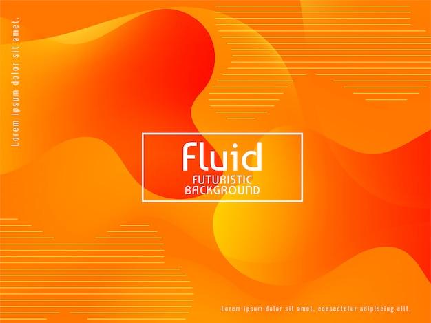 Fondo fluido abstracto brillante