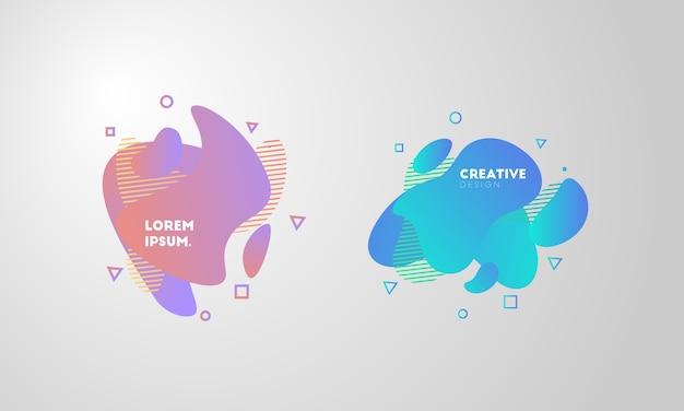Fondo fluido creativo
