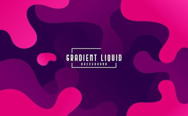Fondo fluido moderno con color líquido