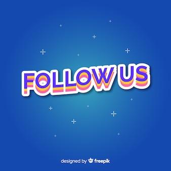 Fondo follow us