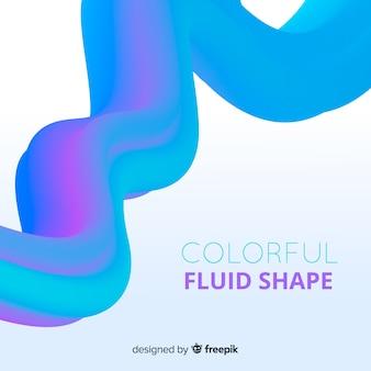 Fondo forma fluida