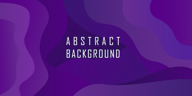 Fondo de forma geométrica abstracta púrpura