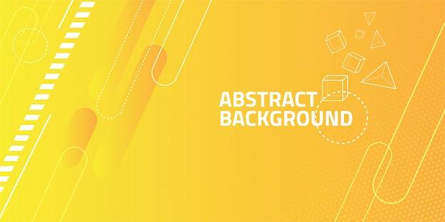 Fondo de forma geométrica abstracta