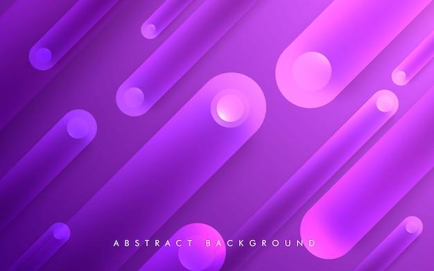 Fondo de forma púrpura geométrica abstracta