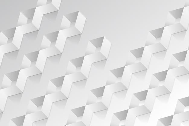 Fondo de formas abstractas estilo de papel 3d