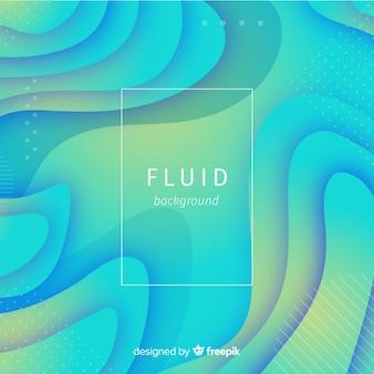Fondo de formas fluidas coloridas
