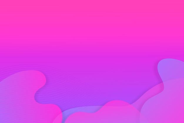 Fondo de formas de flujo colorido abstracto