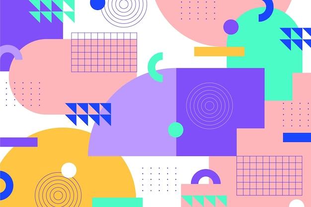 Fondo de formas geométricas abstractas