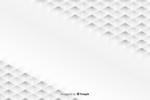 Fondo de formas geométricas en estilo de papel