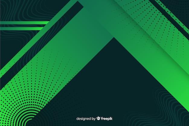 Fondo de formas geométricas con gradiente