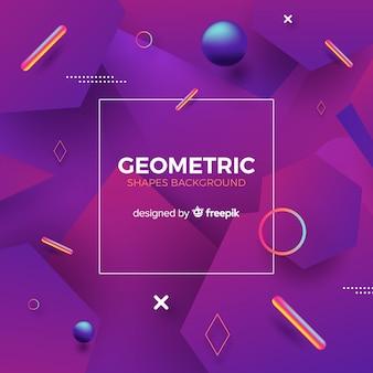 Fondo con formas geométricas
