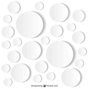Fondo con formas redondas