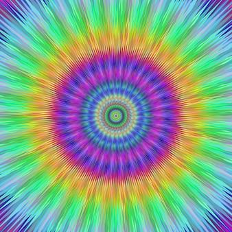 Fondo fractal multicolor