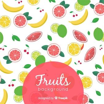 Fondo con frutas