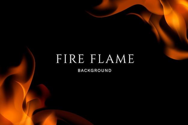 Fondo de fuego y llamas
