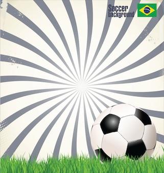 Fondo de fútbol moderno