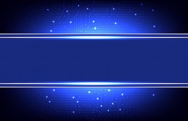 Fondo futurista abstracto del diseño de la plantilla del marco de alta tecnología