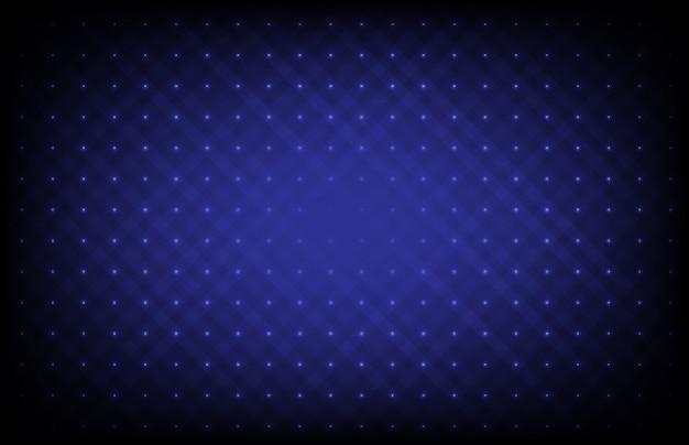 Fondo futurista azul abstracto con puntos de conexión y línea