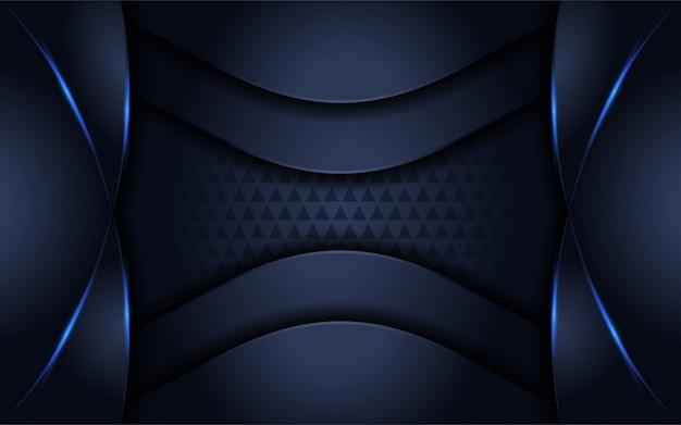 Fondo futurista con forma moderna y superposición de capas.