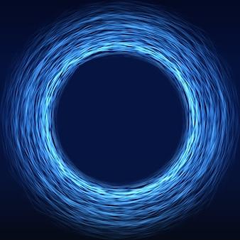 Fondo futurista de la tecnología de la ciencia ficción abstracta de la matriz