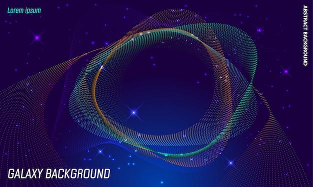 Fondo de galaxia abstracta