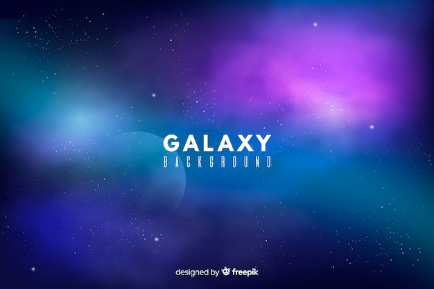 Fondo galaxia abstracta