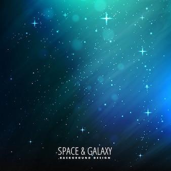 Fondo de la galaxia azul